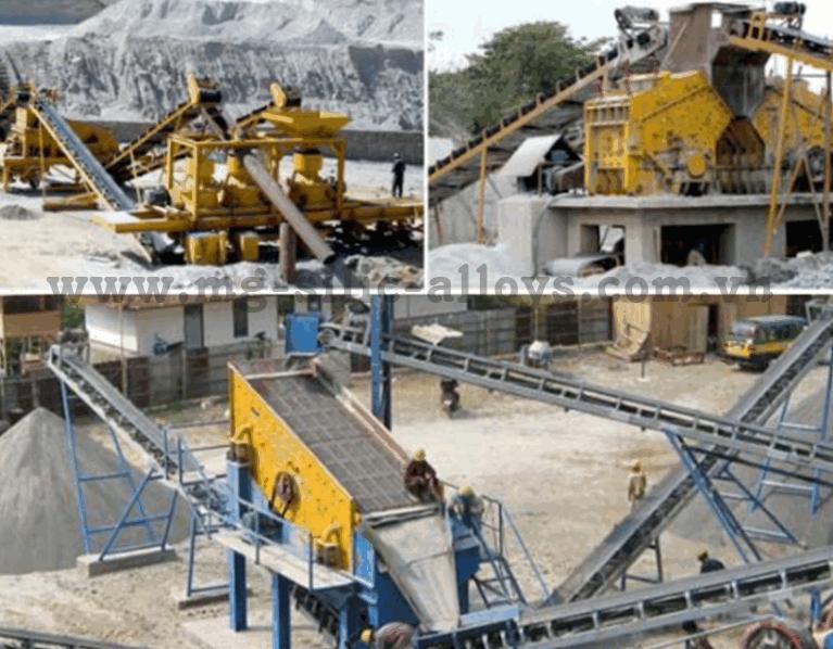Máy nghiền đá 150 đến 350 tấn/h