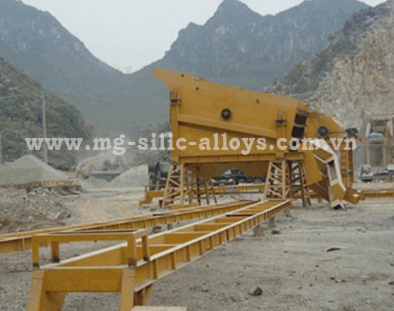 Máy nghiền đá 75 đến 150 tấn/h